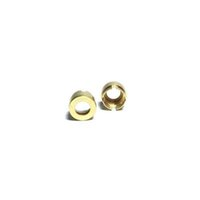 Wholesale metal threaded adapters for sale - Group buy Top Quality ML ML Gold Magnetic Adapter Metal Rings for Thread Ceramic Cartridges Thick Oil Atomizer