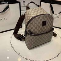 yeni trend okul çantaları toptan satış-Çocuk moda çanta 2019 yeni çocuk okul sırt çantaları tasarımcı lüks omuz çantaları moda G mektup tasarım yüksek kalite ins yeni trendleri