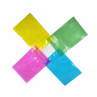 Wholesale salted food for sale - Group buy 12x18cm Poly Plastic Clear Colorful Reclosable Food Grade Self Seal Bag for Bath Salt Candy Zip Lock Storage Pouch Moisture Proof