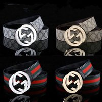 0feaee1a6 GUCCI designer business waistbands imports really leather fashion big hoof  footwear men's strap luxury brand belts LV