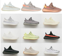 Wholesale key chain for sale - 2019 Clay chaussures Butter Tint Cream White Beluga Kanye West Men women Running Shoes Designer Sports Sneakers With Box and Key Chain