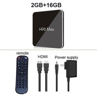 Wholesale android tv box 16gb rom for sale - Group buy H96 MAX X2 Android TV BOX Amlogic S905X2 GB Ram GB Rom G GHz Dual Wifi Bluetooth K