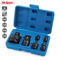 Wholesale car socket adaptor for sale - Group buy Hi Spec Impact Socket Adaptor Convertor Reducer Socket Head Set For Car Bike Garage Repair Hand Tools Y200323