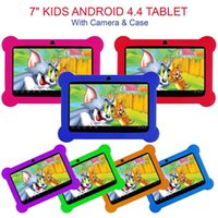 Wholesale 9.6 android tablet resale online - 7 quot KIDS ANDROID TABLET PC QUAD CORE WIFI Camera UK STOCK CHILD CHILDREN UK