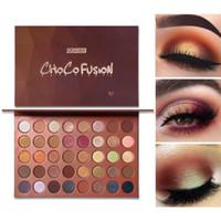 ingrosso palette di artisti-UCANBE Makeup 40 colori Bronzer Artist Palette per ombretti Opachi luccicanti Ombretti metallici Polvere glitterata pigmentata