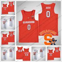 camisetas de baloncesto juvenil al por mayor-NCAA Syracuse Orange # 0 Adrian Autry 3 Gerry McNamara 5 Jalen Carey 13 Paschal Chukwu 23 Frank Howard College Jersey de baloncesto S-4XL