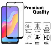 xiaomi beschützer großhandel-Xiaomi Redmi 7 Note7 Note7 Pro Note 7S 7A Displayschutzfolie aus gehärtetem Glas mit schwarzem Seidendruck