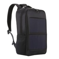 рюкзак оптовых-Haweel Solar Panel Backpacks Convenience Charging Laptop Bags for Travel 14W Solar Charger With Handle and Dual USB Charging P
