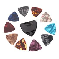 Wholesale guitar plectrums for sale - Group buy Guitar Pick Plectrums Holder Box Case Guitar Picks DIY Replacements