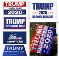 usa bayrak bayrağı toptan satış-Afiş Trump Bayrak Amerika Tekrar Başkan ABD Donald Trump 2020 Seçim Afiş Bayrak Dekor Bayrakları 90 * 150 cm Parti Malzemeleri HH7-1988
