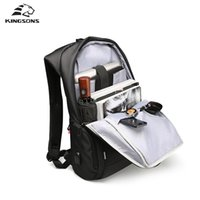 Wholesale best selling laptops resale online - Kingsons Best Selling W W Laptop Backpack Men Women Fashion Leisure Travel Business Backpacks Student School Bags