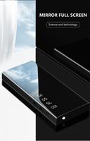 bateria portátil usb universal venda por atacado-Banco do poder 10000mAh banco externo da bateria Saída dupla USB Carregador rápido Espelho de exibição Carregador portátil de carga rápida Powerbank