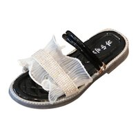 Wholesale kids home slippers resale online - SAGACE Girl Slippers For Children Lace Crystal Pricess Shoes Kids Indoor Outdoor Sandals Slippers Home Shoes For Toddler Girl