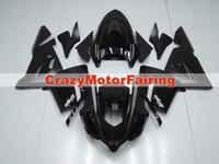 satılık zx kaplama toptan satış-Yüksek kalite Yeni ABS motosiklet marangozluk kitleri kawasaki Ninja ZX10R 2004 2005 ZX-10R 04 05 için fitwork fit özel kaporta siyah sıcak satış!