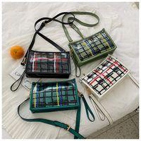 корейские летние тотес оптовых-High quality designer  satchels clutch handbags ladies bag Thailand Korean style Shoulder chain totes pvc clear summer