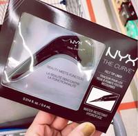 ingrosso cosmetici della regina-Dropshipping NYX The Curve Liquid Eyeliner Beauty incontra la funzione Cosmetici impermeabili di alta qualità Party Eye Eye Makeup Eyeliner 0.4ml
