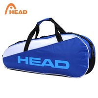 84b14e988be bag rackets NZ - Professional Head Badminton Rackets Bag Large Capacity For  3 Badminton Rackets Also