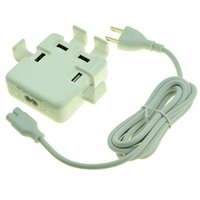 Wholesale travel phone holder resale online - 5 V A Port USB Wall Charger Portable Travel Charger Power Adapter with holder for Android Phone with retail package