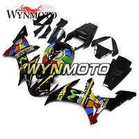 motorrad-kunststoff-kits großhandel-Motorrad Verkleidungen Für Yamaha YZF 1000 R1 2002 2003 Gelb Schwarz Kits yzf 1000 r1 02 03 ABS Kunststoff Einspritzung Motorrad Rahmen Rümpfe Kits