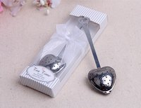 Wholesale baby shower tea party for sale - Group buy Love Tea Strainer Wedding Favors Wedding Souvenirs Baby Shower Favors and Gifts Love Party Decorations Supplies