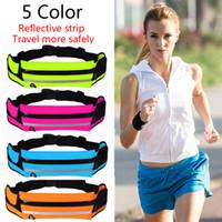 vibe de bolso venda por atacado-5 cores mulheres esportes correndo acessório cintura movimento bolso vibe correndo saco de cintura saco