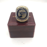 Wholesale tin plates cups resale online - High Quality ST LOUIS BLUES STANLEY CUP CHAMPIONSHIP RING