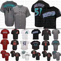 92f695f7 Mens Arizona Diamondbacks Baseball Jersey 44 Paul Goldschmidt 51 Randy  Johnson Jerseys size m-xxxl