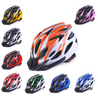 Wholesale yellow mountain helmet resale online - 2018 New Ultra light Safety Sports Bike Helmet Road Bicycle Helmet Mountain Bike MTB Racing Cycling Hole Drop ship