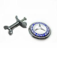 emblèmes amg achat en gros de-Pour Mercedes AMG C180 C200 E260 E300 Pommier B AMG Carlsson Lorinser Autocollant Capot Avant