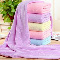 Wholesale microfiber camp towel resale online - Microfiber Soft Bath towel Unisex Beach Bath Absorb Towels Travel Camping Microfiber Quick Drying Lightweight Swimming Pool Towel DH1311