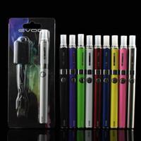 paquet de batterie li ion achat en gros de-MT3 Bobines EVOD Starter Kit Emballage Carte Emballage EGO T Cigarette MT3 E 650 900 1100 mAh Rechargeable Li-ion Vape Pen Batterie DHL Free Ship