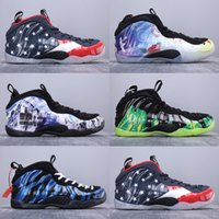 Wholesale foam shoes for men for sale - Group buy 2019 New Arrival Penny Hardaway XX th Spray Foam Series Basketball Shoes for High quality Mens Classic Athletic Sports Sneakers Size