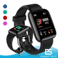 Wholesale iphone plus rates for sale - 116 Plus Smart watch Bracelets Fitness Tracker Heart Rate Step Counter Activity Monitor Band Wristband PK PLUS for iphone Android