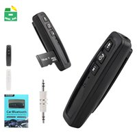ingrosso carte ricevente-Ricevitore Bluetooth per auto Aux Audio Receiver Adapter TF Card Vivavoce 3.5mm Wireless Bluetooth Car Kit Ricevitore Aux Music