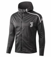 Wholesale italy soccer tracksuit for sale - Group buy RONALDO soccer jacket tracksuit Survetement Italy jacket sportswear
