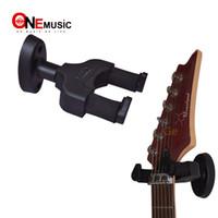 neue klassische gitarre groihandel-Aroma AH-81 Racks / Hooks Wandhalterung Rack für Akustik-E-Gitarre und Bass New MU0232