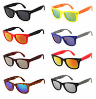 Wholesale folding eyewear for sale - Group buy 4105 Folding Full Frame Sunglasses Man Driving Sports Brand Sunglasses Woman Travel Brach UV400 Protection Eyewear TTA1190