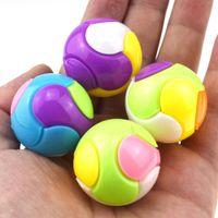 Wholesale intelligence diy toys resale online - Children DIY Assembly Combination Solid Color Ball Debates Intelligence Ball Twist Egg Funny Egg Gifts L264
