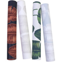 Wholesale chinese floral art for sale - Group buy New home High quality nordic ins art tropical rain forest green plant banana leaf wallpaper living room bedroom tv background wall paper