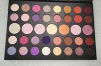 polvo de sombra al por mayor-Nueva paleta de maquillaje Hot 39colors Eyeshadow Palette Matte Shimmer alta calidad sombra de ojos en polvo envío de DHL