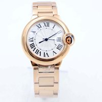 Wholesale gold round balloons resale online - 2020 NEW Factory Photographs Men s W69004Z2 blue balloon Watch MM k Rose Gold Automatic Movement DATE Work Sport Wrist Watches