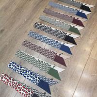 Wholesale decorative hand towels resale online - Brand Fashion Lady Scarf Decorative Hand Towel cm Silk like Silk Ribbon Silk Scarf Style