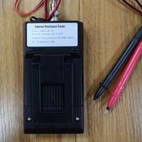 testador de bateria de chumbo venda por atacado-Freeshipping LCD Digital LCD Resistência Da Bateria tester resistência tester voltímetro para baterias de chumbo ácido lítio 9 V 12 V 24 V