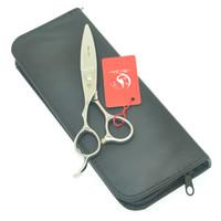 lâminas do japão venda por atacado-Cabelo de 6,0 polegadas Meisha Left Hand Cabeleireiro corte Shears japonesa de aço Tesoura Cabelo Salon Clipper com larga Blades HA0454