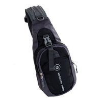 koltukaltı çantaları toptan satış-Erkek Koltukaltı Hırsızlık Kılıf Çapraz vücut Omuz Moda Seyahat Çantası Siyah