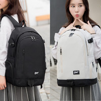 Wholesale new style college bag girls resale online - College Style Backpack Laptop Bags Large Capacity School for Women Men Boy Girl Preppy Style Schoolbag new