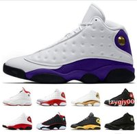 Wholesale basketball shoes names for sale - Group buy Top s mens basketball shoes Court purple Hyper Royal Bred He got name Grey Toe Melo Class of Sport Shoes Designer Sneakers