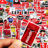 Wholesale pvc laptop stickers resale online - 50 bag Car Stickers Ins Popular Super me For Laptop Skateboard Pad Bicycle Motorcycle PS4 Phone Luggage Decal Pvc guitar Stickers