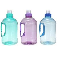 ingrosso grandi bottiglie di plastica-Bere grande bottiglia d'acqua in plastica per lo sport Picnic Bicicletta Drinkware Bottiglie d'acqua creative 1L / 2L
