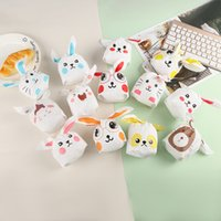 kurabiye hediye seti toptan satış-Paskalya Tavşan çanta 50 adet / takım Yeni sevimli uzun kulaklı tavşan çanta Çerez şeker çanta Aperatif çanta çocuklar için en iyi hediye paketi